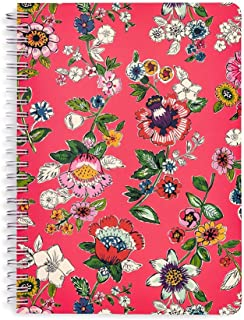 Vera Bradley Women's Mini Notebook with Pocket (Coral Floral)