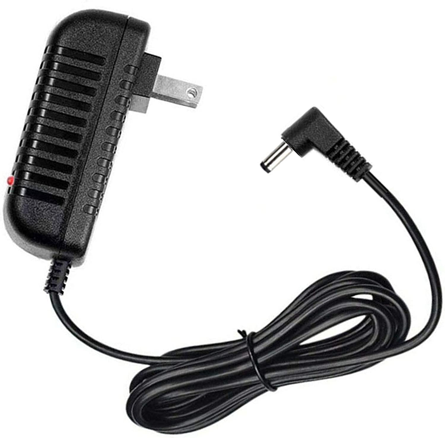 9V Charger AC Adapter for RadioShack PRO-404 Radio Scanner Home Wall DC Charger Power Supply Cord Cable, 5 Feet, with LED Indicator