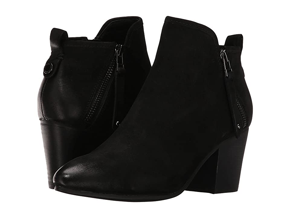Steve Madden Julius (Black Leather) Women