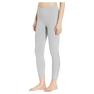 Bebe Sport Sport Applique Pants (Heather Grey) Women