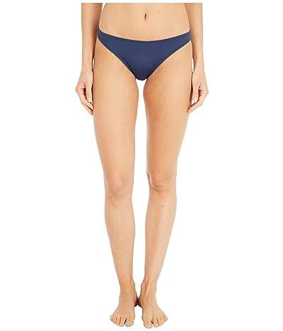 Roxy Solid Beach Classics Moderate Swim Bottoms (Mood Indigo) Women