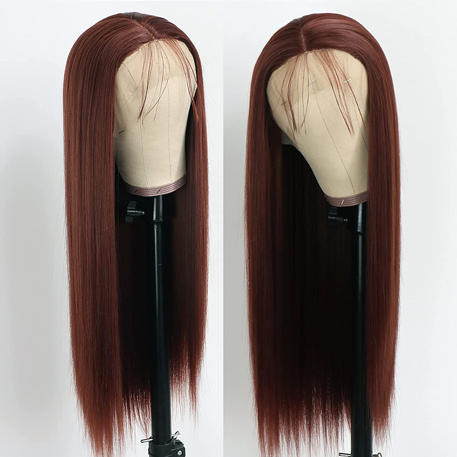 Conkolar Heat Resistant Synthetic Lace Bl 55% OFF for Arlington Mall Fashion Front Wigs