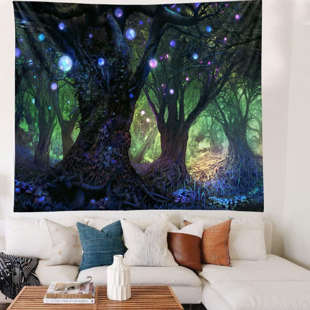 Forest Tapestry Home Decor Room Bedroo Landscape Regular store NEW before selling ☆ Living