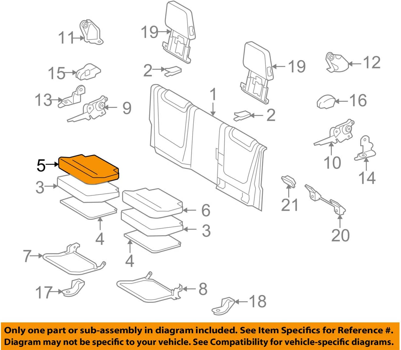SEAL limited San Antonio Mall product TOYOTA Genuine 71075-04200-B1 Seat Cover Cushion