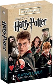 Winning Moves Harry Potter Waddingtons Number 1 Playing Cards