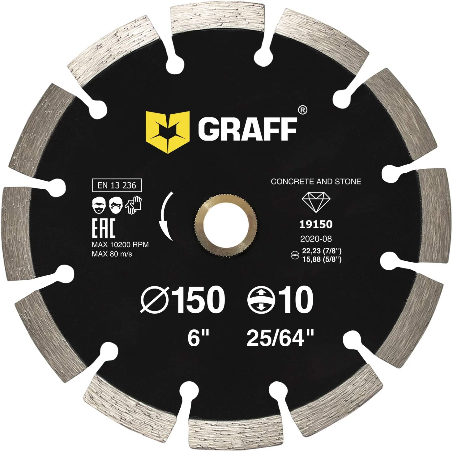 GRAFF Diamond Blade for Angle Cutting Grinder fo - Max 69% OFF Product Wheel