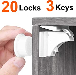 Best child proof cupboard door locks Reviews