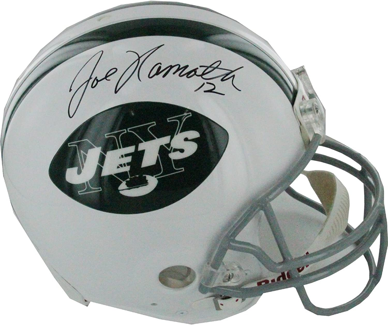 NFL York Jets Joe Namath Autographed Helmet