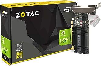 ZOTAC GeForce GT 710 2GB DDR3 PCI-E2.0 DL-DVI VGA HDMI Passive Cooled Single Slot Low Profile Graphics Card (ZT-71302-20L)
