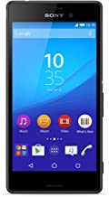 Sony Xperia M4 Aqua 16GB GSM/LTE Unlocked Cell Phone - Black (U.S. Warranty)
