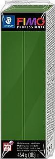 Staedtler FIMO Professional, Pâte à modeler vert feuille façon argile durcissant au four, Pour spécialistes et artistes ex...