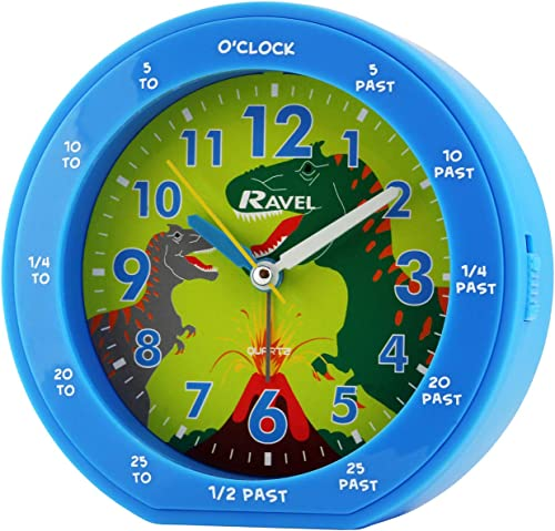 Ravel Réveil à Quartz, Bleu