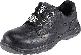 ACME Adjacent Leather Safety Shoes Black (Size - ACME005_42)