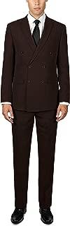 ALAIN DUPETIT Mens Double Breasted Suit