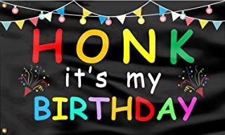 Gormcore Honk It's My Birthday Flag Happy Birthday Party Funny Flag Post UV with Brass Grommets,Outdoor Sign House Banner ...
