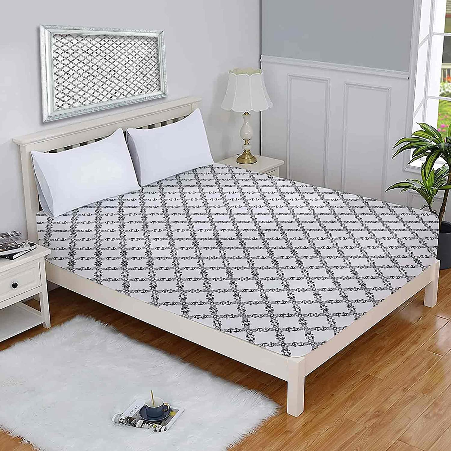 Damask Twin Mattress Protectors Old Fashioned Elegant Style Max 64% OFF Or Abstract