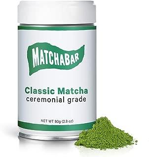 MATCHABAR Matcha Classic Ceremonial Grade Green Tea Powder 80g