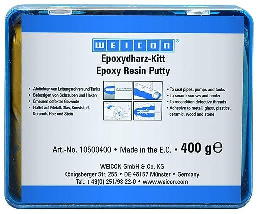 20 opinioni per WEICON Resina epossidica pastosa 100 g composto per riparazioni universale