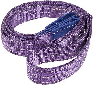 Corde de Remorquage 3,5 M 5 Tonnes /Élingue 5 Tonnes Space Home Jaune Corde de Remorquage de Voiture