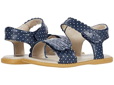 Livie & Luca Posey (Toddler/Little Kid) (Navy Polka Dot) Girl