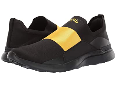 Athletic Propulsion Labs (APL) Techloom Bliss (Black/Racing Yellow) Men