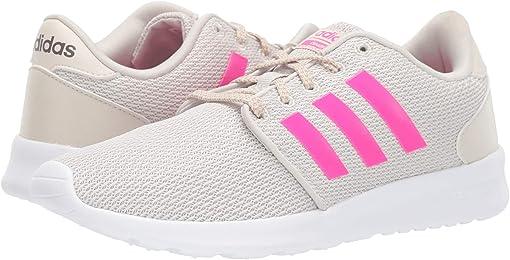 Raw White/Shock Pink/White