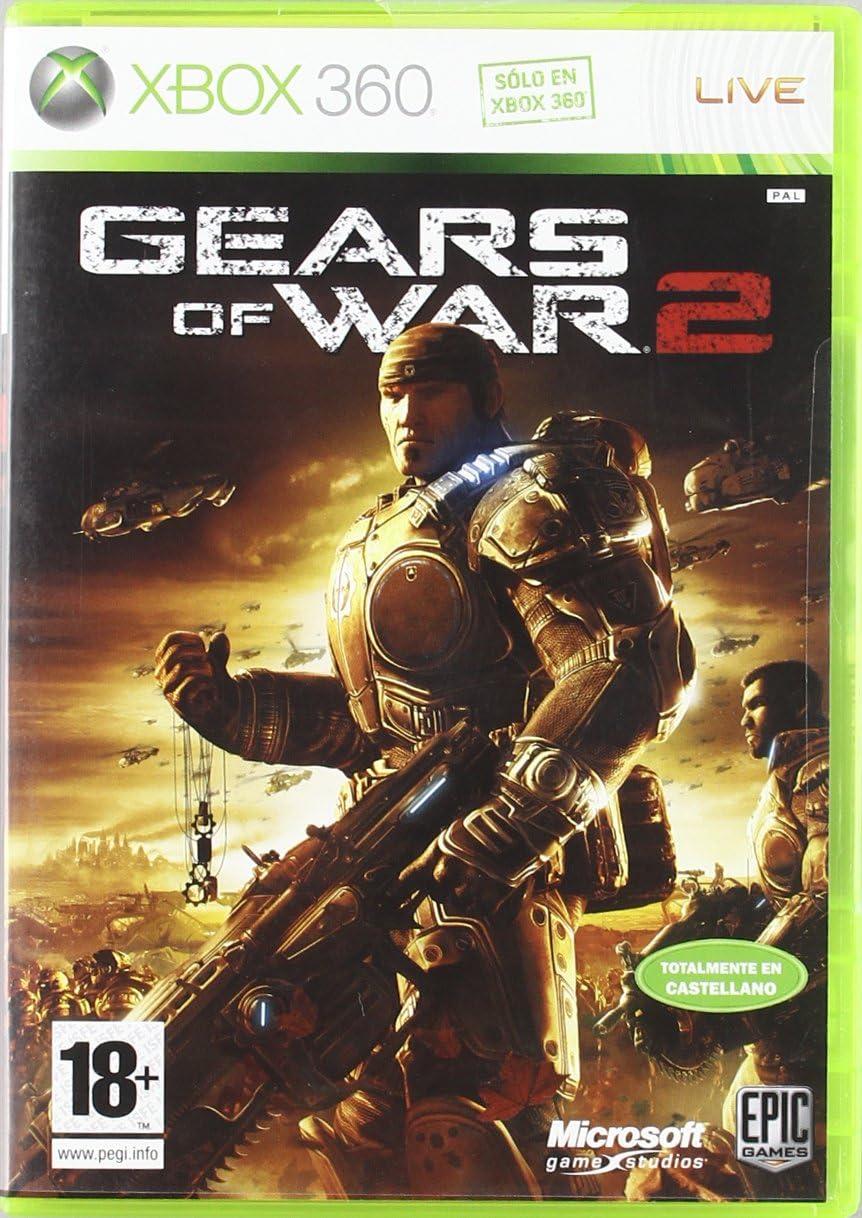 Juegos para Xbox 360 de todos los tiempos Gears of War 2