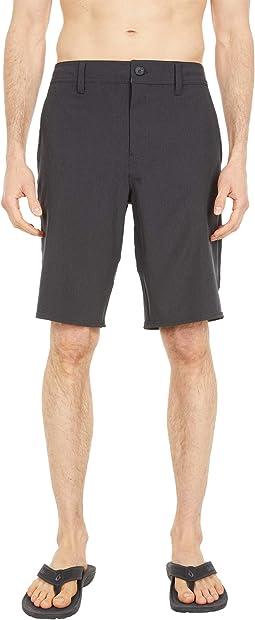 "Reserve Heather 21"" Hybrid Shorts"