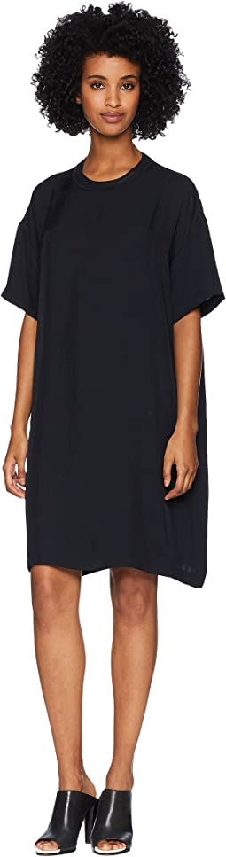 Rib Trim T-Shirt Dress