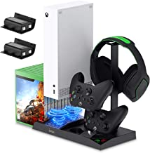 $42 » FYOUNG Vertical Charging Stand Storage Tower for Xbox Series S with Cooling Fan, Charging Dock for Xbox Series S with 2X 1...