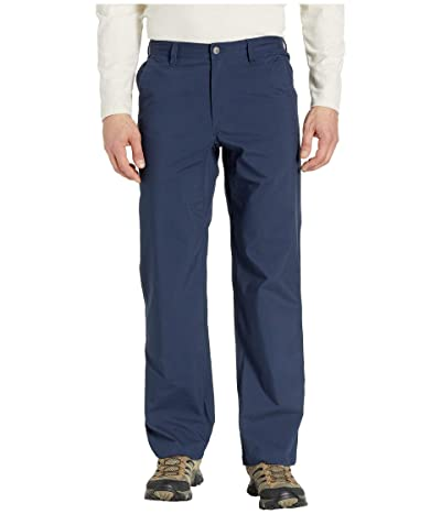 Mountain Khakis Stretch Poplin Pants Relaxed Fit (Navy) Men
