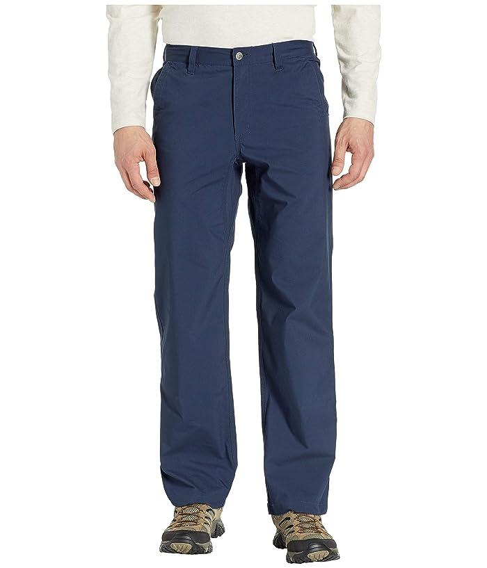Mountain Khakis Stretch Poplin Pants Relaxed Fit (Navy) Men