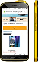 V·Mobile X6 Unlocked Cell Phones 4G, Android 8.1, 16GB ROM/32GB Expansion with 5.2 inch HD Screen 5MP Dual Camera 2800mAh Battery Dual Sim 2 + 1 Card Slots Smartphone (Yellow)