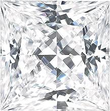 Charles & Colvard Forever Classic Square Princess Cut Moissanite Gemstone (J-K color)