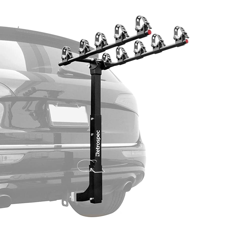 Retrospec Lenox Car Hitch Mount Bike Rack; 5 Bicycle Carrier