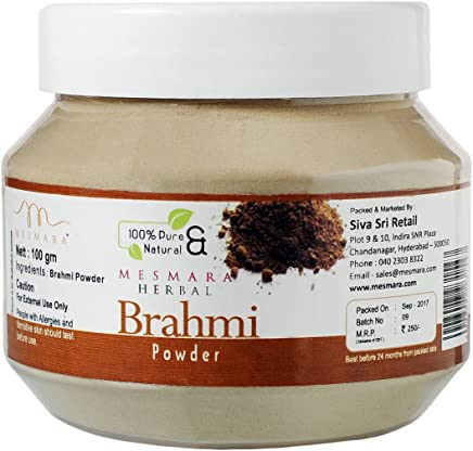 Mesmara Herbal Brahmi Powder - 100g