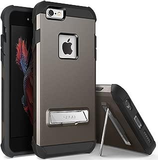 iPhone 6S Plus Case, OBLIQ [Skyline Advance][Gun Metal] with Metal Kickstand Dual Layered Metallic Heavy Duty Hard Protection Hybrid Case for iPhone 6S Plus (2015) & iPhone 6 Plus (2014)