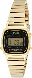 Casio Ladies Gold Vintage La670Wga-1Ur Watch