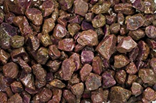 Fantasia Materials: 1 lb Red Corundum Ruby AAA Grade Rough Stones from India