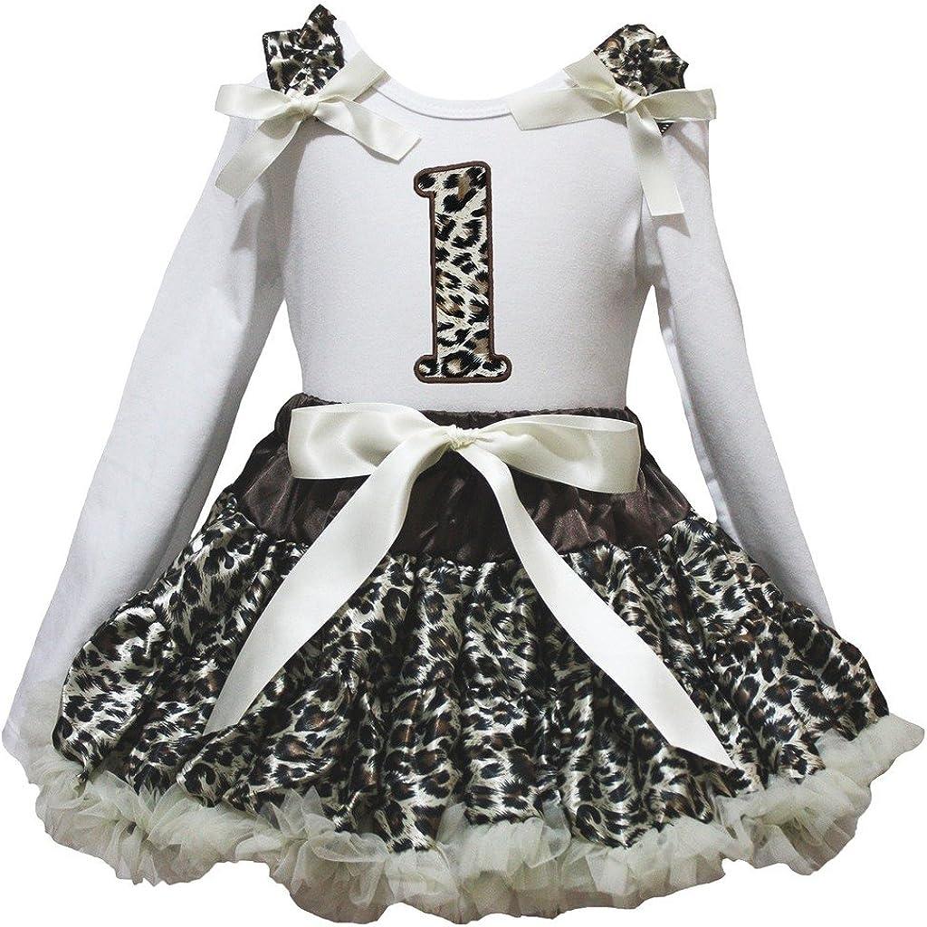 Petitebella Ranking TOP20 Leopard 1st White L Beige Set Shirt Tulsa Mall s Skirt