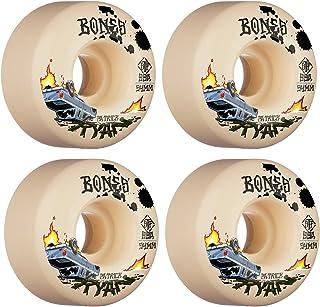 Bones Skateboard Wheels 54mm Ryan Crash and Burn V4 Wide STF 99A