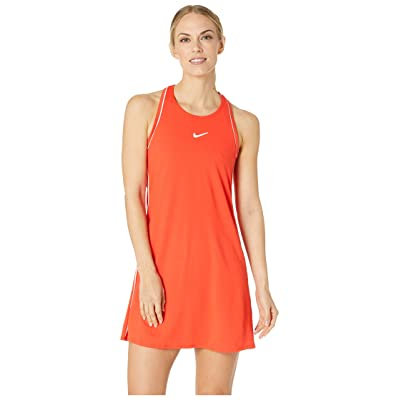 Nike Court Dry Dress (Habanero Red/White/White/Bordeaux) Women