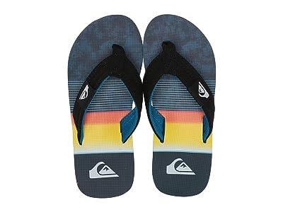 Quiksilver Kids Molokai Layback (Toddler/Little Kid/Big Kid) (Black/Blue/Black) Boys Shoes