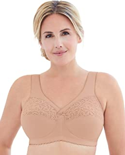 Women's Full Figure MagicLift Cotton Wirefree Support Bra #1001