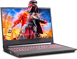 Sager NP7856 15.6 Inches Thin Bezel FHD IPS 144Hz Gaming Laptop, Intel Core i7-9750H, NVIDIA RTX 2060 6GB DDR6, 16GB RAM, 500GB NVMe SSD, Windows 10 Home
