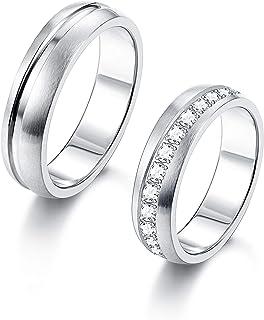 d56060476234c Amazon.co.uk: Stainless Steel - Rings / Men: Jewellery