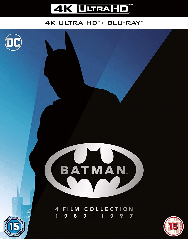 Batman 4-Film Collection 1989 - 4K Region Limited time sale Surprise price 2020 Blu-ray 1997