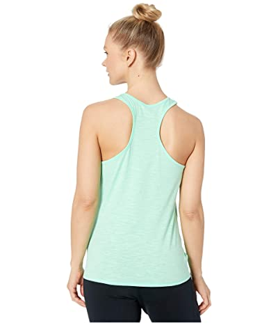 PUMA Logo Tie Tank Top (Green Glimmer) Women