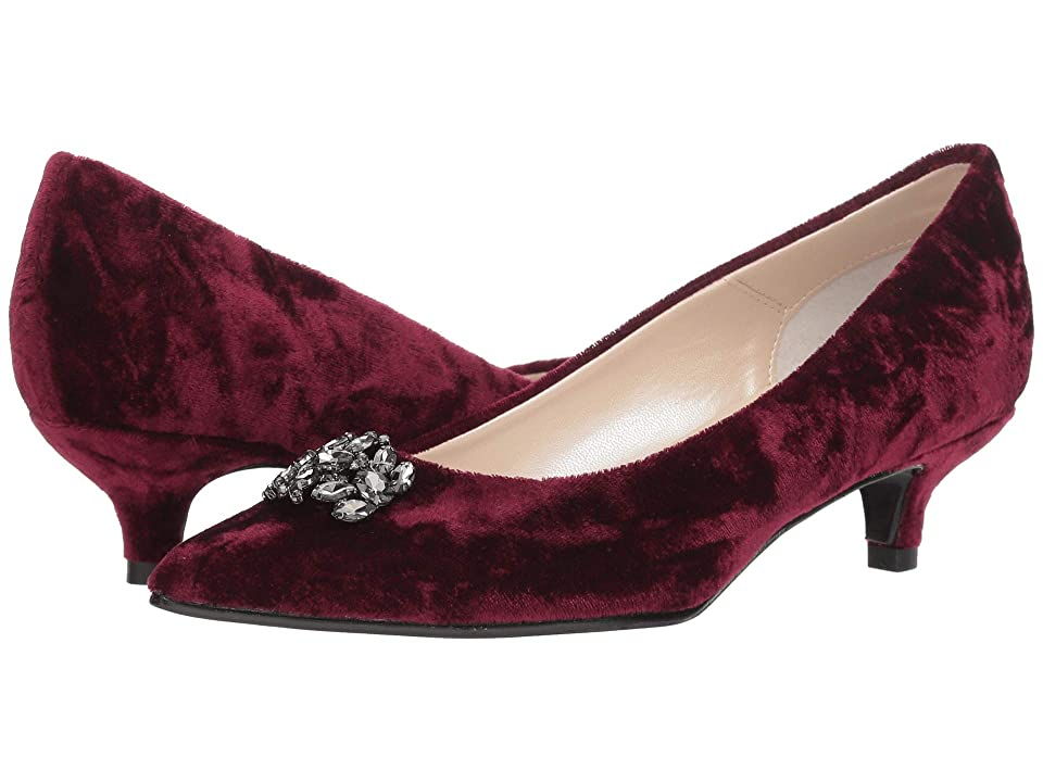 Caparros Oligarch (Burgundy Crushed Velvet) Women