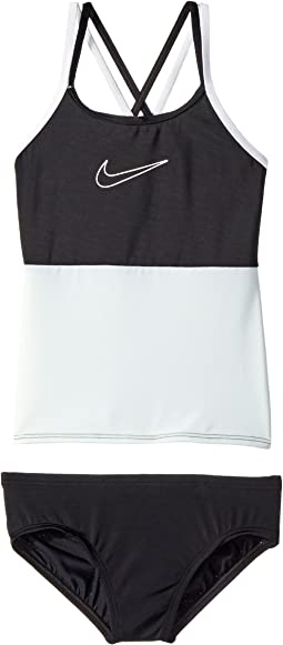 Nike Kids Color Surge Spiderback Tankini Set (Big Kids)